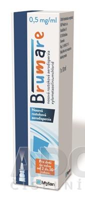 Brumare 0,5 mg/ml nosová roztoková aerodisperzia