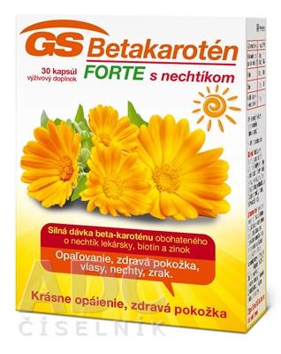 GS Betakarotén FORTE s nechtíkom