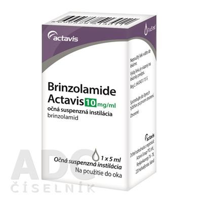Brinzolamide Actavis 10 mg/ml