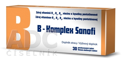 B-Komplex Sanofi