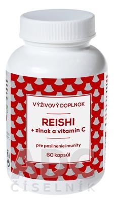 NATURVITA REISHI + zinok a vitamín C