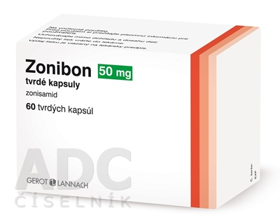 Zonibon 50 mg tvrdé kapsuly