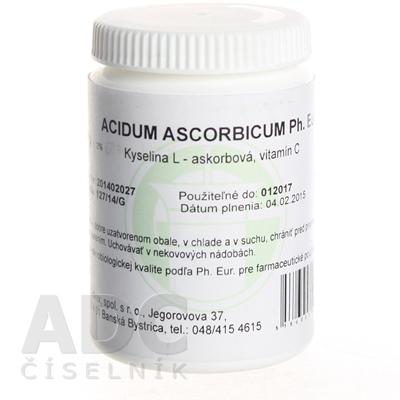 ACIDUM ASCORBICUM Ph.Eur. - GALVEX