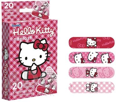 Hello Kitty sterilné detské náplasti