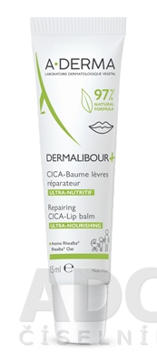 A-DERMA DERMALIBOUR+ Reparačný CICA-Balzam