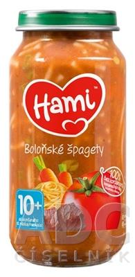 Hami príkrm Bolonské špagety