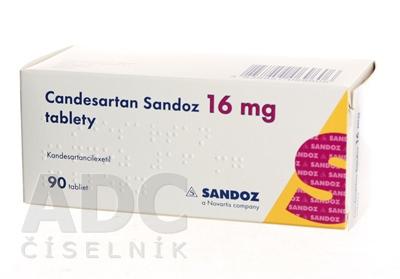 Candesartan Sandoz 16 mg tablety