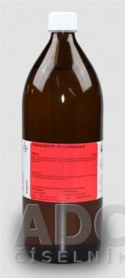 Formaldehyd 4% stabilizovaný - FAGRON