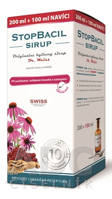 STOPBACIL SIRUP - Dr.Weiss