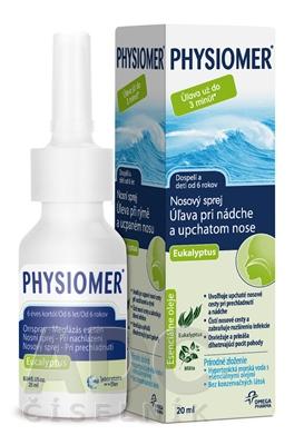 PHYSIOMER Nosový sprej Eukalyptus