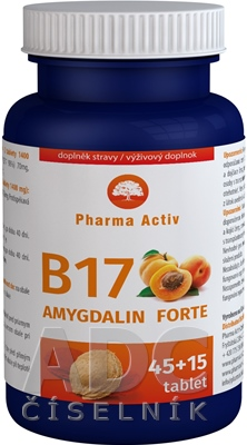 Pharma Activ Amygdalin Forte Vitamín B17