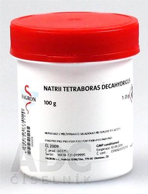 Natrii tetraboras decahydricus - FAGRON