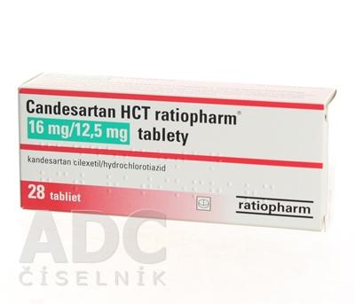 Candesartan HCT ratiopharm 16 mg/12,5 mg