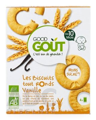 Good Gout BIO Vanilkové kolieska