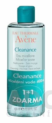 AVENE CLEANANCE EAU MICELLAIRE (DUO)