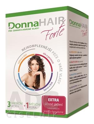 DonnaHAIR Forte 4 mesačná kúra