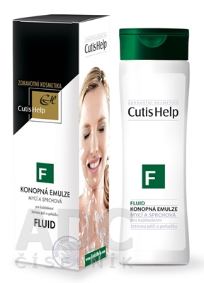 CutisHelp FLUID konopná umývacia emulzia - nová