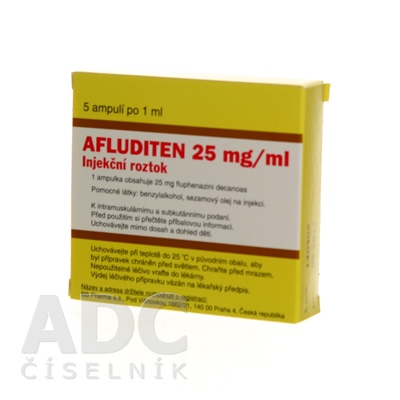 AFLUDITEN 25 mg/ml