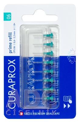 CURAPROX CPS 06 prime refill tyrkysová
