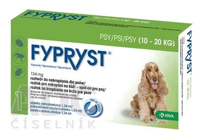 FYPRYST 134 mg PSY 10-20 KG
