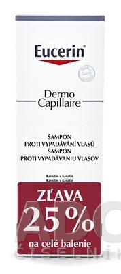 Eucerin DermoCapillaire Šampón vypadávanie vlasov