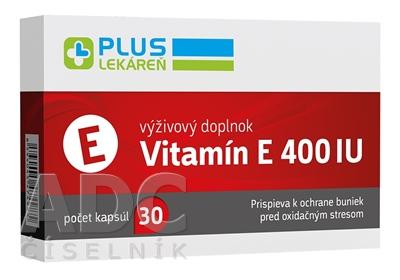 PLUS LEKÁREŇ Vitamín E 400 IU