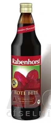 Rabenhorst Cviklová šťava Bio