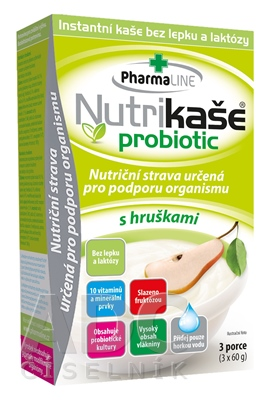 Nutrikaša probiotic - s hruškami