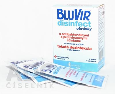 BLUVIR Disinfect obrúsky