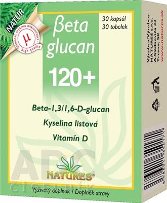 NATURES Betaglucan 120+