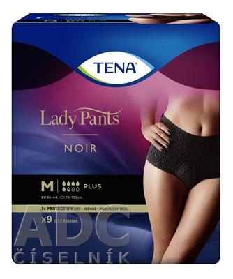 TENA Lady Pants Plus Noir M