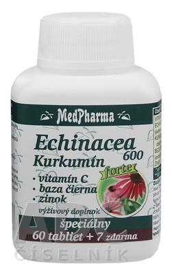 MedPharma ECHINACEA 600 Forte - Kurkumín
