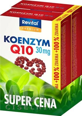 Revital KOENZÝM Q10 30 mg+VITAMÍN E+SELÉN