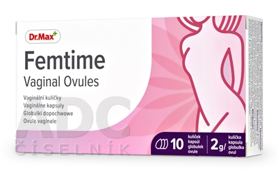 Dr.Max Femtime Vaginal Ovules