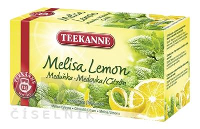 TEEKANNE NHT Melisa Lemon