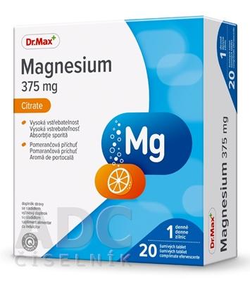 Dr.Max Magnesium 375 mg Citrate (inov. 2019)