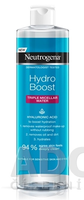 NEUTROGENA Hydro Boost Micelárna voda 3v1