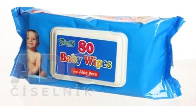 HYGIENICKÉ UTIERKY BABY WIPES S ALOE