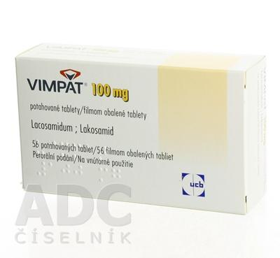 Vimpat 100 mg filmom obalené tablety