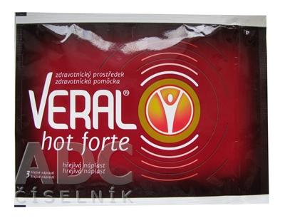 VERAL HOT Forte hrejivá náplasť