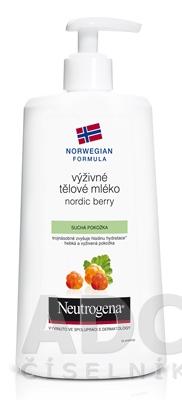 NEUTROGENA NR Výživné telové mlieko Nordic Berry