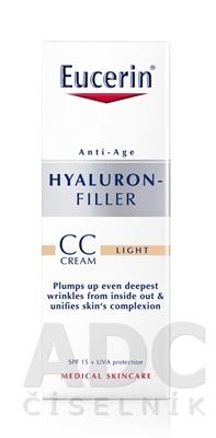 Eucerin HYALURON-FILLER CC krém svetlý