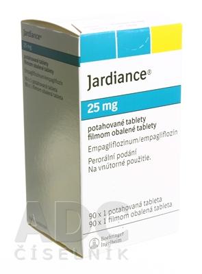 Jardiance 25 mg filmom obalené tablety