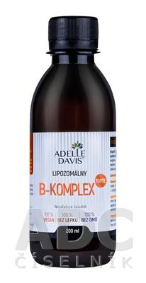 ADELLE DAVIS Lipozomálny B-KOMPLEX FORTE