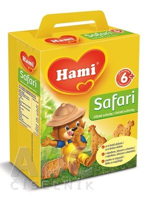 Hami sušienky Safari