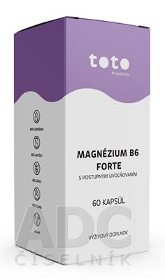 TOTO MAGNÉZIUM B6 FORTE