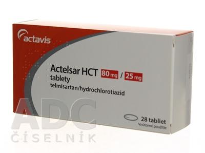 Actelsar HCT 80 mg/25 mg tablety