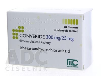 CONVERIDE 300 mg/25 mg