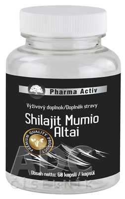 Pharma Activ Shilajit Mumio Altai