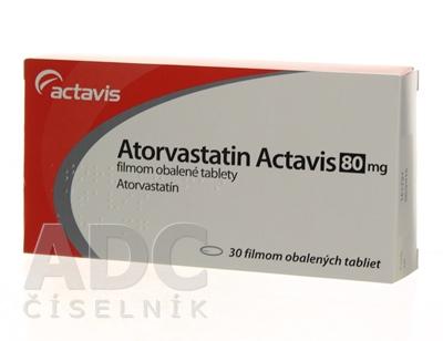 Atorvastatin Actavis 80 mg